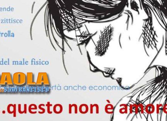 """Paola – """"Questo non è amore"""": per sapere cos'è, incontro su Corso Roma"""