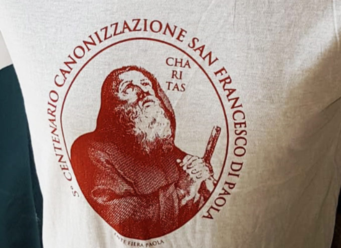Paola – Un logo dal sapore antico e per celebrare San Francesco e l'umanità
