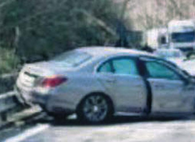 SS107 – Incidente vicino San Fili: auto nel dirupo, paura per la conducente