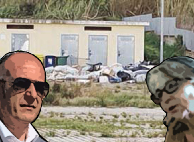 "Paola – Rifiuti nell'area mercatale, i ""falbiani"" ne lamentano il degrado"