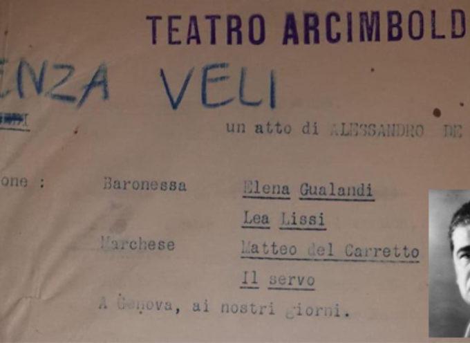 Senza veli: scoperto testo teatrale inedito del 1926 (di Gianmarco Cilento)