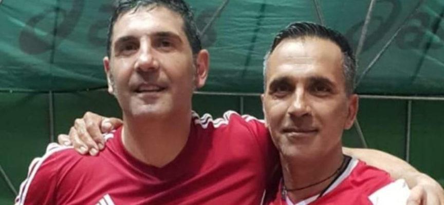 """Giorgio Di Stilo e Pino Zimbaro, """"doppio"""" che vale un titolo regionale (il 4°)"""