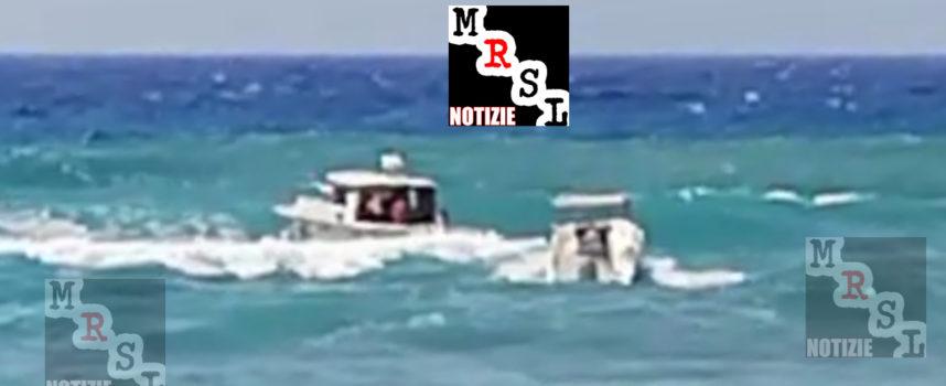 Video – Rocambolesco salvataggio in mare: un paolano salva più persone
