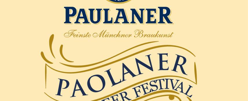 """Boccali pronti per la tre giorni del """"Paolaner Beer Festival"""" a Largo 7 Canali"""