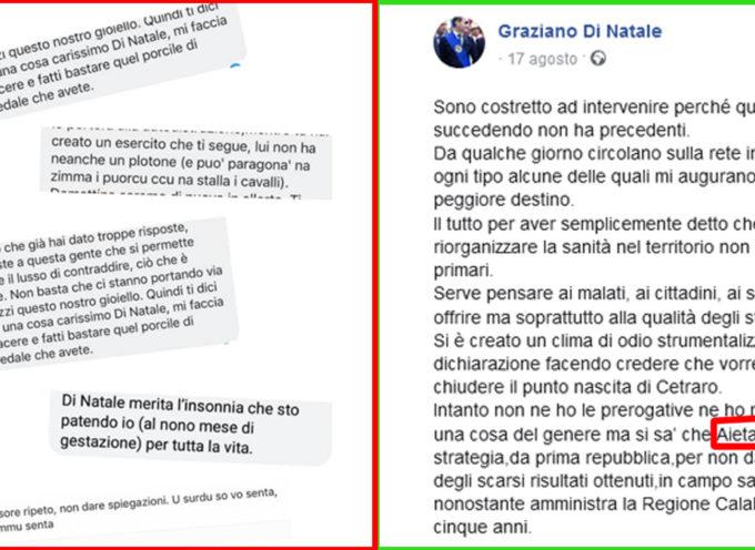 """Graziano Di Natale """"dileggiato"""" su Facebook. Solidarietà dal Sant'Agostino"""