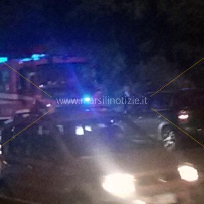 FOTO – Incidente sulla SS18, traffico rallentato vicino al bivio per Cosenza