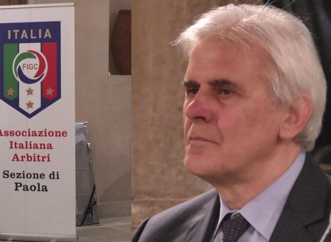 """Premio """"Domenico Romeo"""", a Paola presente Marcello Nicchi (vertice AIA)"""