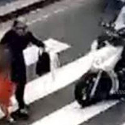 Investita da scooter in Via S. Agata: attimi di panico per una donna a Paola