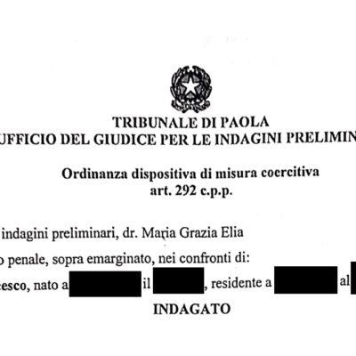 Revocati domiciliari a Francesco Loizzo che, però, non potrà avvicinare l'ex