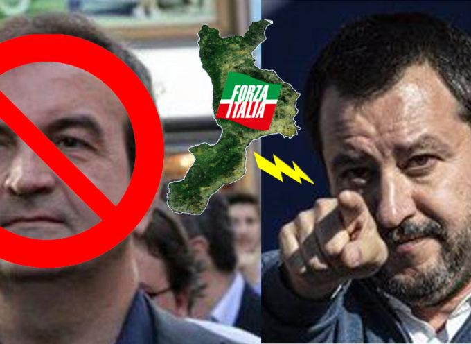 Matteo Salvini mette il divieto su Mario Occhiuto, ma Forza Italia s'incazza