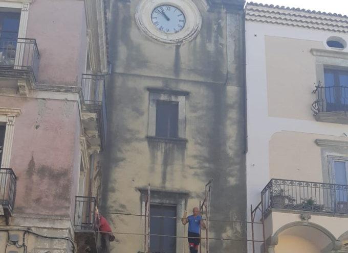 Iniziato il restauro della Torre Civica, simbolo della municipalità di Paola