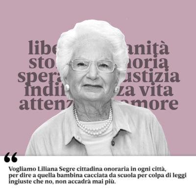 Paola – Il sindaco Perrotta propone cittadinanza onoraria per Liliana Segre