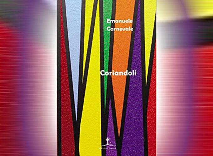 Coriandoli – Raccolta di poesie di Emanuele Carnevale (Intervista)